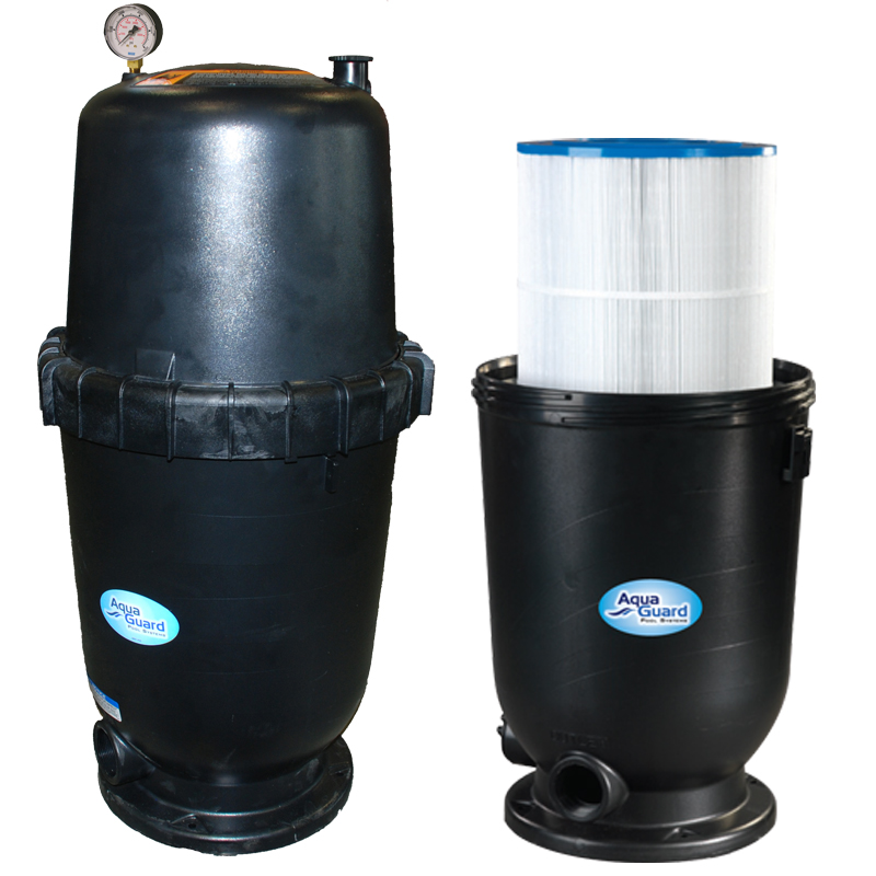 cartridge filters for above ground pools aquaguard pool products. Black Bedroom Furniture Sets. Home Design Ideas
